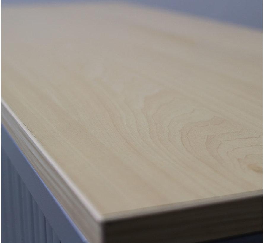 Ahrend Roldeurkast Grijs | 160 x 120 x 45 cm
