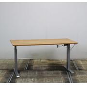 Lamers Zit-Sta Bureau Beuken | 160 x 80 cm