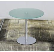 Lamers Kantoormeubelen Cascando Velvet Glazen Bijzettafel | Ø 60 cm