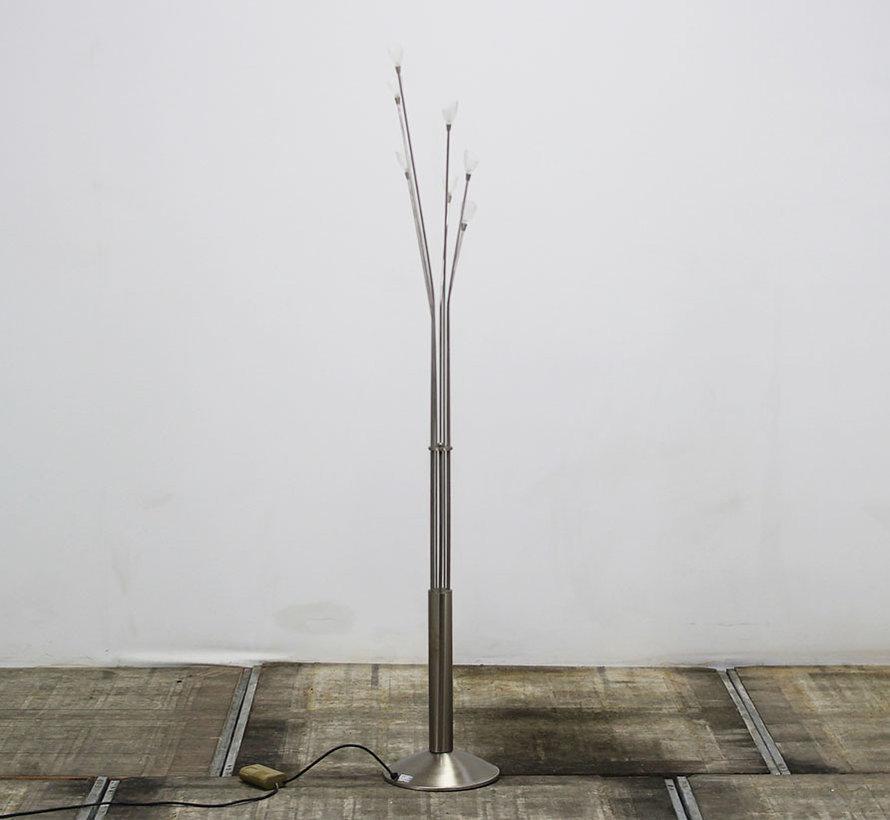 Vloerlamp Aluminium | 7 Lampen