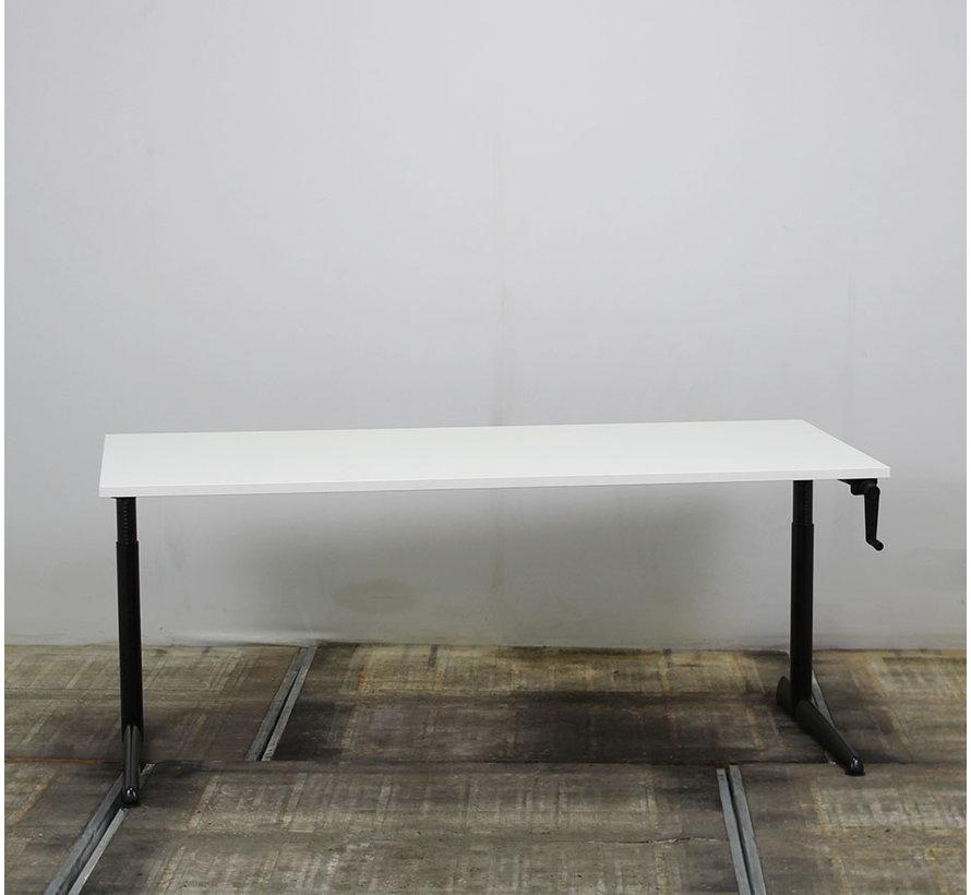 Ahrend 500 Slingerbureau 180 x 80 cm | Nieuw Wit Blad
