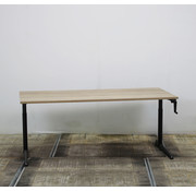 Ahrend Ahrend 500 Slingerbureau 180 x 80 cm | Nieuw Midden Eiken Blad