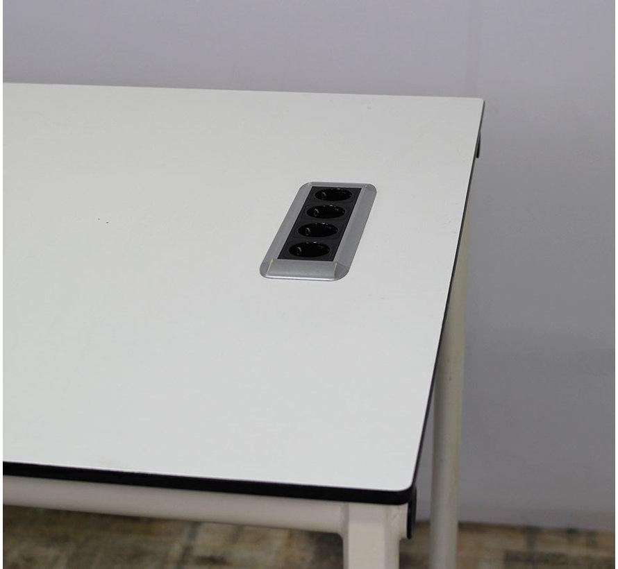 Ahrend 310 Verrijdbare Statafel + Stekkerdoos | 200 x 100 cm