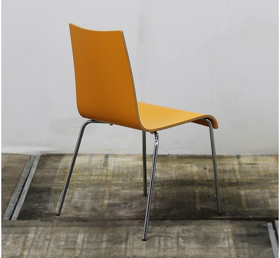 Oranje Kantinestoel | Stapelbaar
