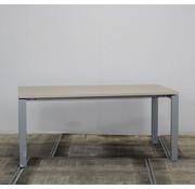Lamers Kantoormeubelen Knop Verstelbaar Bureau Eiken | 180 x 90 cm