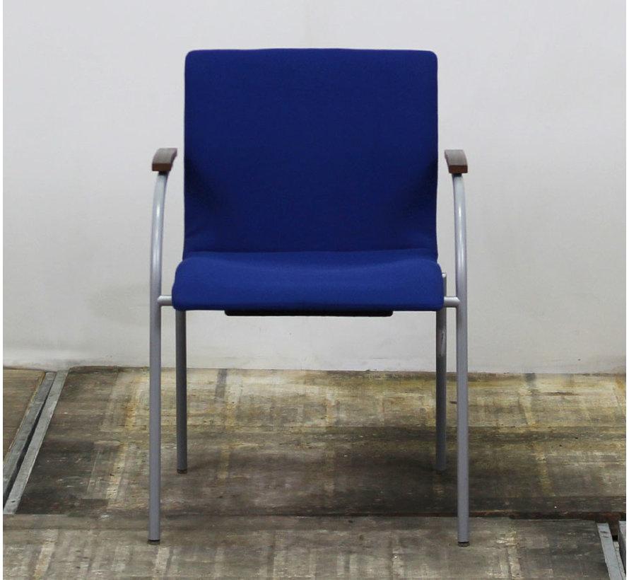 Sedus No Limits Kantinestoel | Blauw - Stapelbaar