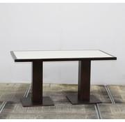 Lamers Kantoormeubelen Vergadertafel Rechthoek Wengé | 150 × 80 cm