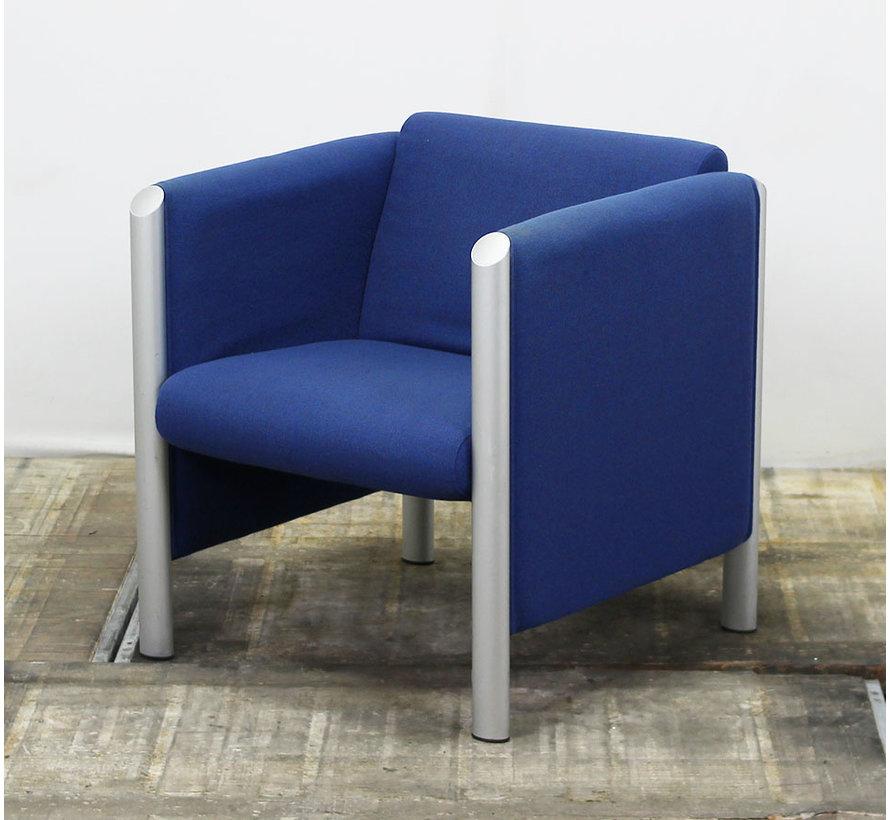 Fauteuil Wilkhahn Cubis | Blauw & Grijs