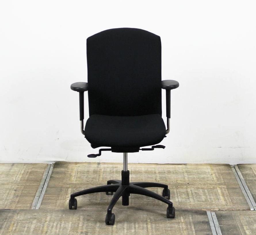 KÖHL Selleo Bureaustoel Zwart | Nieuw Gestoffeerd