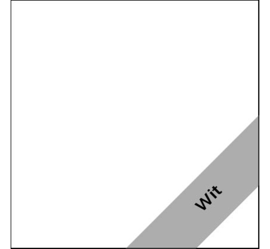 Zwartwoud Zettoe HV Slingerbureau | 160 x 80 cm - Wit