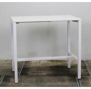 Lamers Kantoormeubelen Statafel Rechthoekig Wit | 120 x 80 cm