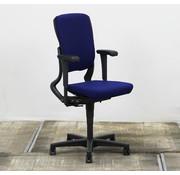 Ahrend Ahrend 230 Bureaustoel Blauw Gebruikte Stof