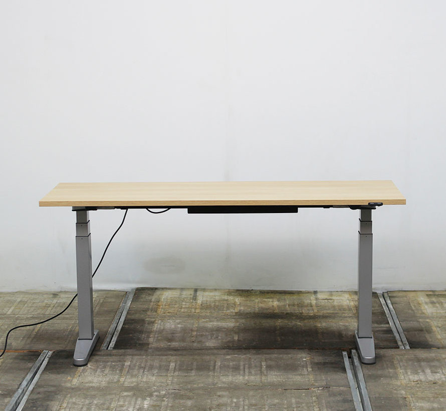 Steelcase Ology Zit-Sta Bureau Licht Beuken 160 x 60 cm | Nieuw Blad