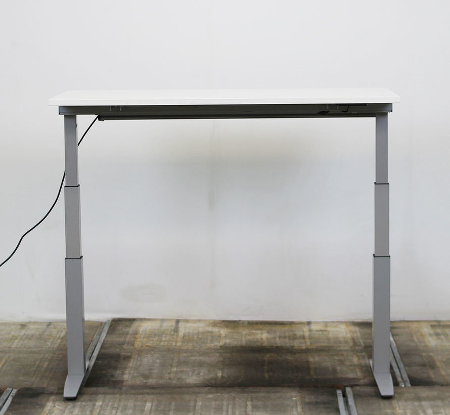 Haworth Zit-Sta Bureau Wit Blad 140 x 60 cm