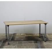 Gispen Gispen Next Inbus Bureau 160 x 80 cm | Nieuw Natuur Eiken Blad