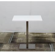 Lamers Kantoormeubelen Kantinetafel Wit Blad | 70 x 70 cm