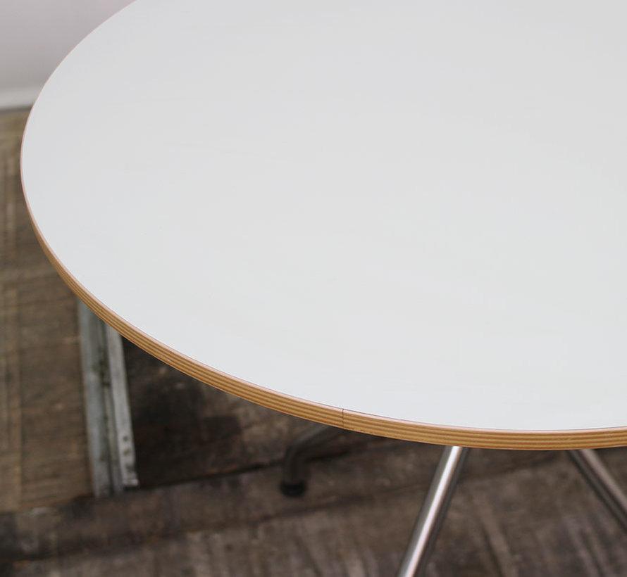 Kantinetafel Rond Blad Wit | Ø 100 cm