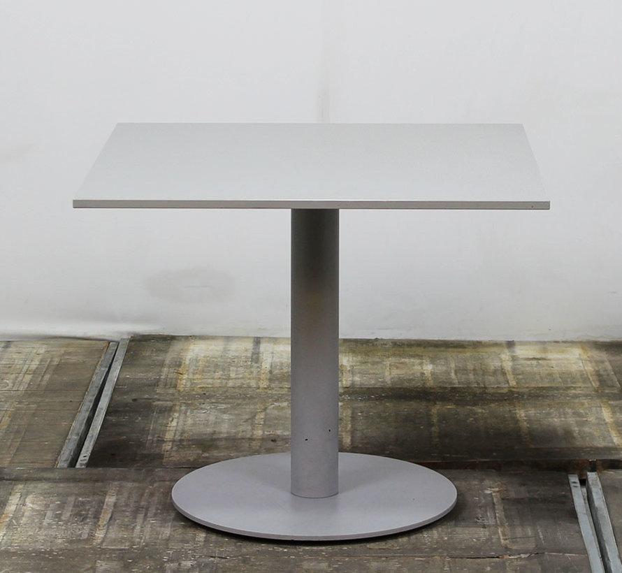 Kantinetafel Grijs Blad | 90 x 90 cm