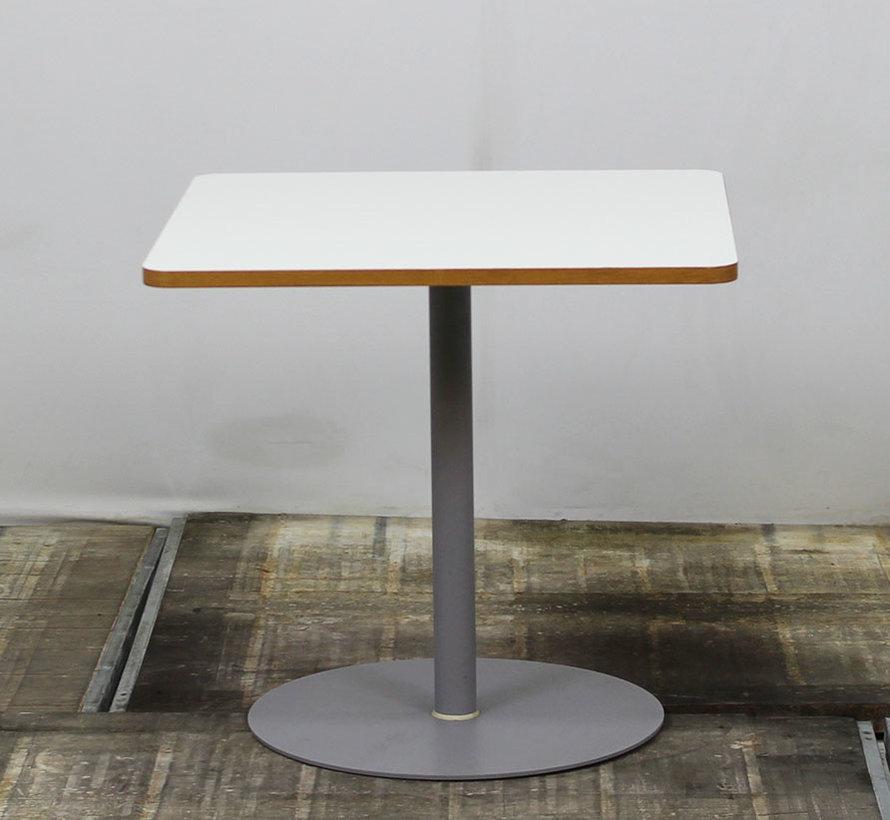 Kantinetafel Wit Blad | 80 x 80 cm