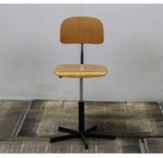 Lamers Kantoormeubelen Houten Werkplaatsstoel