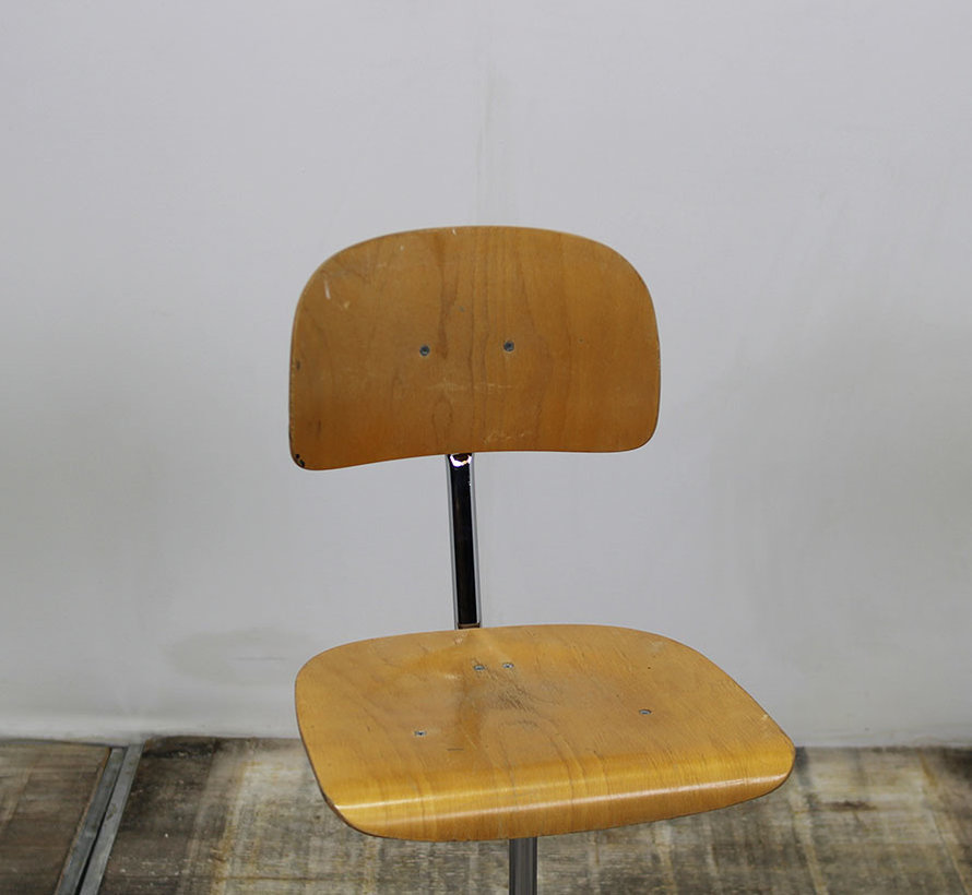 Houten Werkstoel