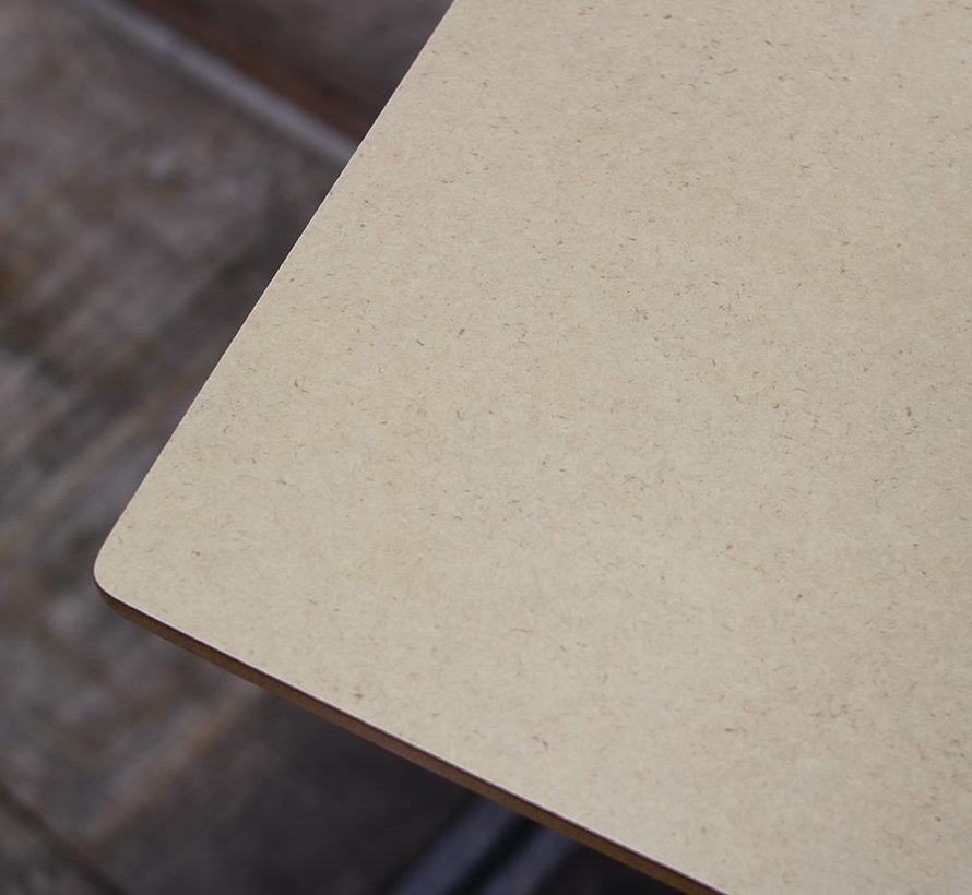 Lande Smith Vergadertafel Tonvormig | 200 x 100/90 cm