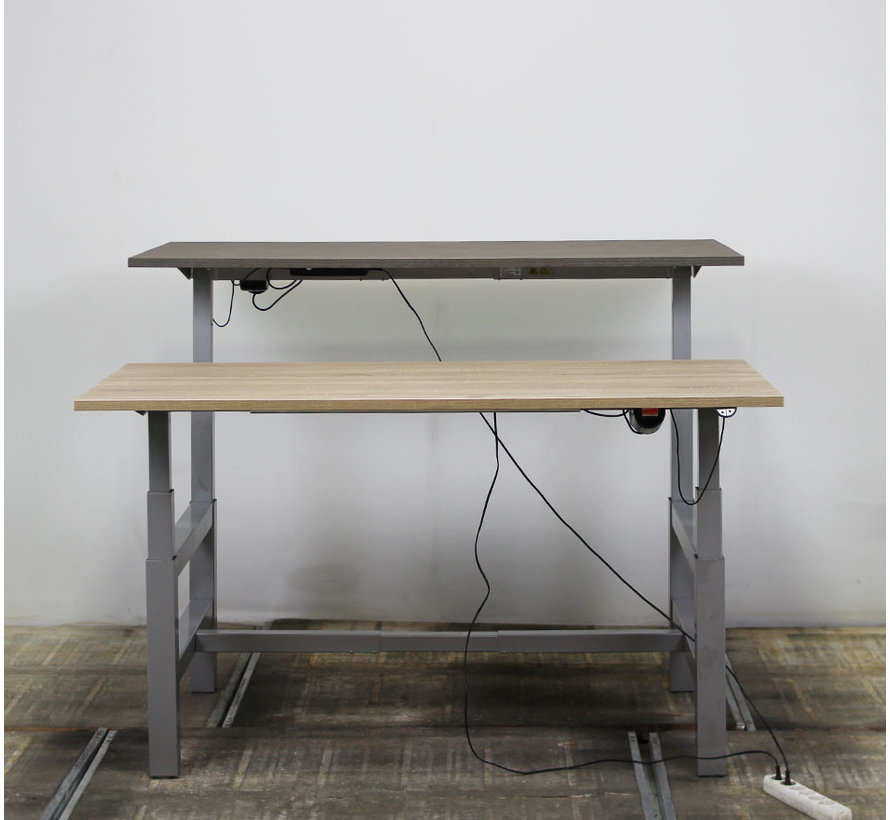 Actiforce Duo Zit-Sta Werkplek | Nieuw Bureaublad 160 x 80 cm