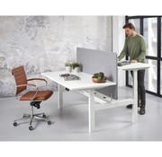 Lamers Kantoormeubelen Duo Zit-Sta Bureau Office 140 x 165 cm