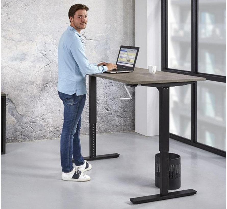 Bureau Dex   T-Poot Slinger Verstelbaar   120x80 cm