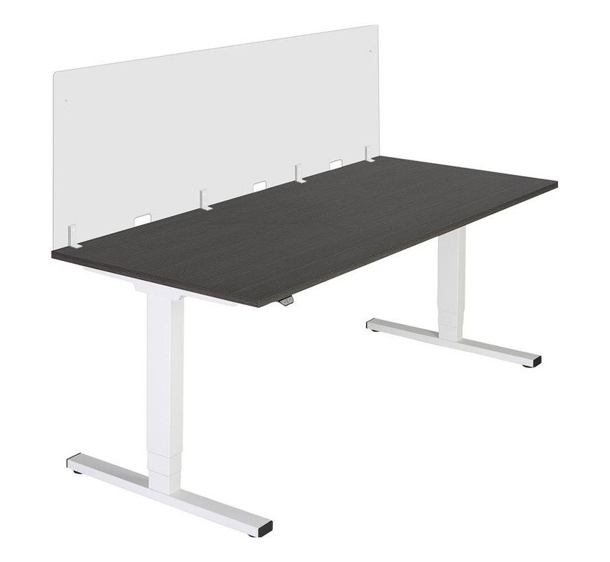Plexiglas Bureauscherm 160 cm
