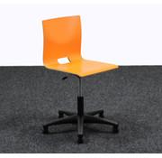 Lamers Kantoormeubelen Werkstoel / Bureaustoel Oranje