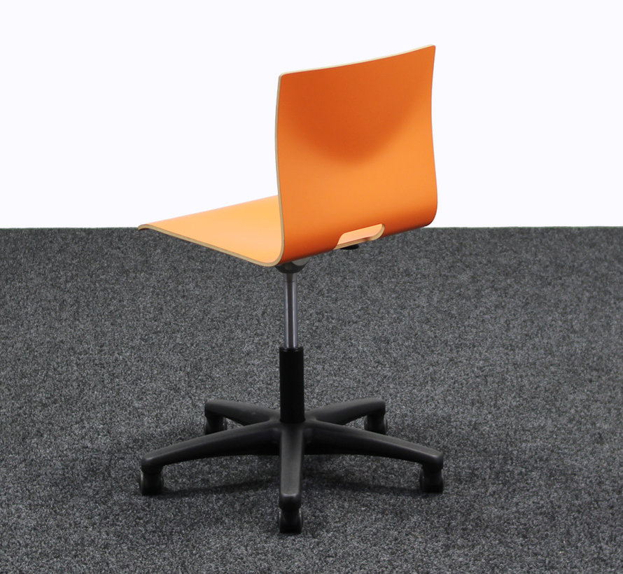 Werkstoel / Bureaustoel Oranje