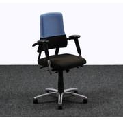 BMA Ergonomics BMA Axia Bureaustoel Zwart / Blauw