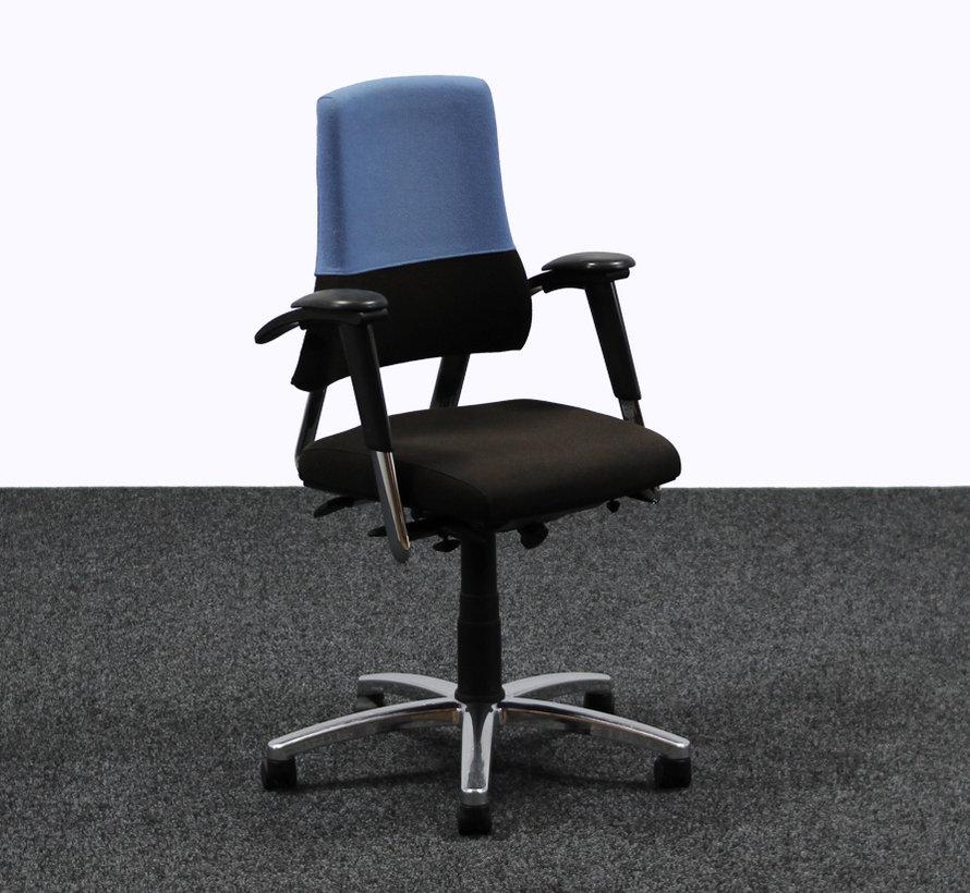 BMA Axia Bureaustoel Zwart / Blauw