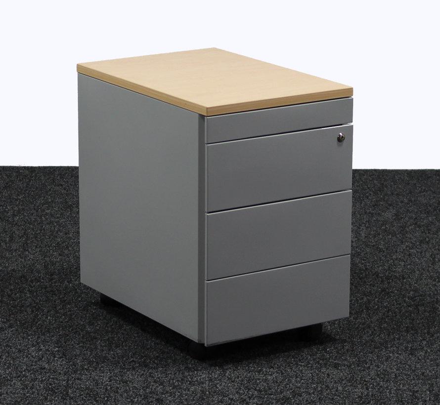 Ladeblok Aluminium 4 Laden   62 x 40 x 60 cm