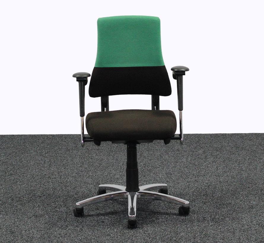 BMA Axia Bureaustoel Zwart / Groen