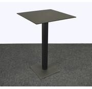 Lamers Kantoormeubelen Statafel Vierkant Zwart 70 x 70 cm