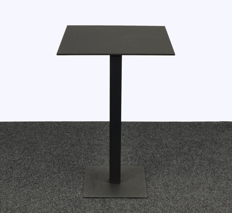 Statafel Vierkant Zwart 70 x 70 cm