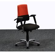 BMA Ergonomics BMA Axia Bureaustoel Zwart / Rood