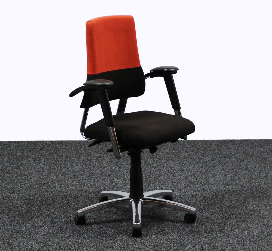 BMA Axia Bureaustoel Zwart / Rood