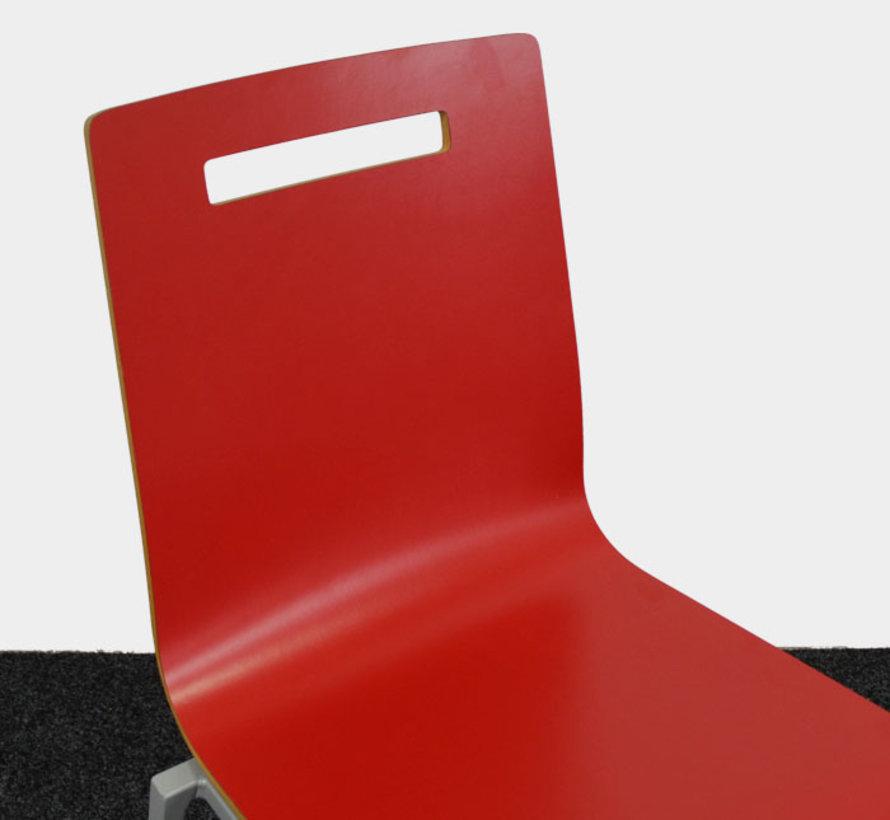 Huislijn Oscar Kantinestoel Rood