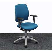 Drabert Drabert Entrada Bureaustoel Turquoise | Nieuw Gestoffeerd