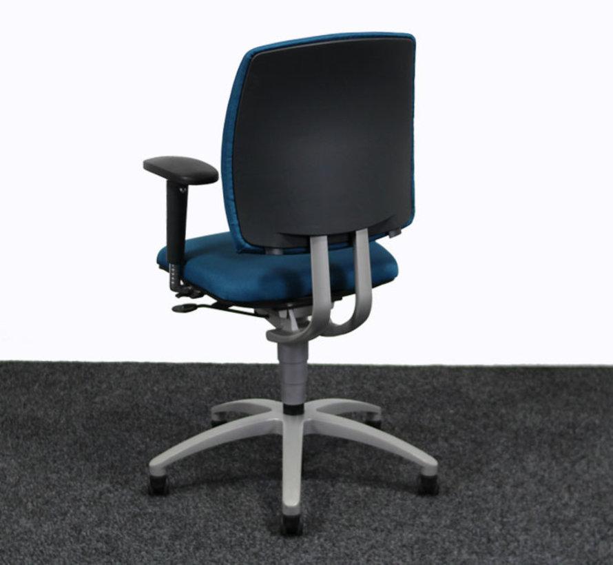 Drabert Entrada Bureaustoel Turquoise | Nieuw Gestoffeerd