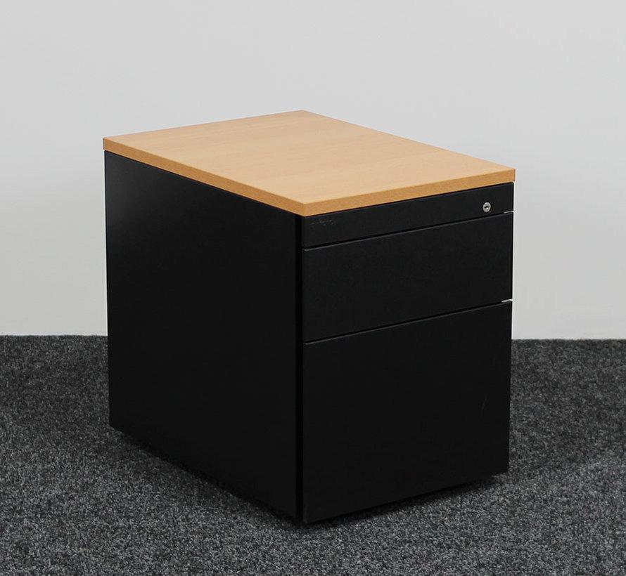 Ahrend Ladeblok Zwart 3 - Laden | 55 x 42 x 60 cm