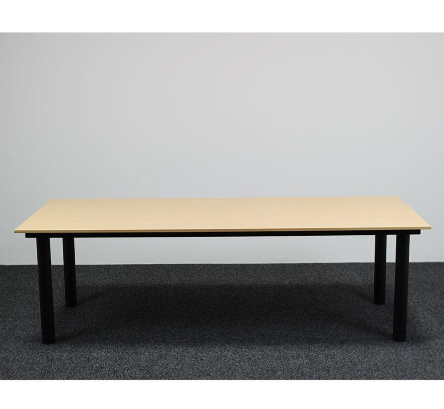 Gispen TM Vergadertafel Berken | 240 x 100 cm