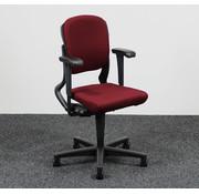 Ahrend Ahrend 230 Bureaustoel Bordeaux Rood | Nieuw Gestoffeerd