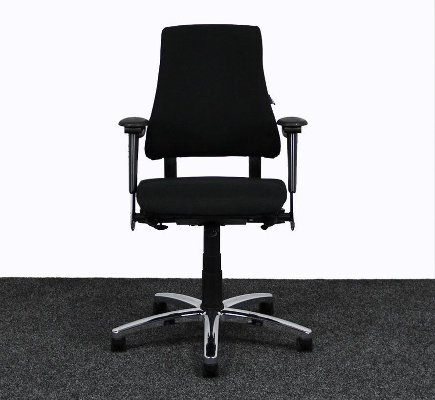 BMA Axia Bureaustoel Zwart | Nieuw Gestoffeerd