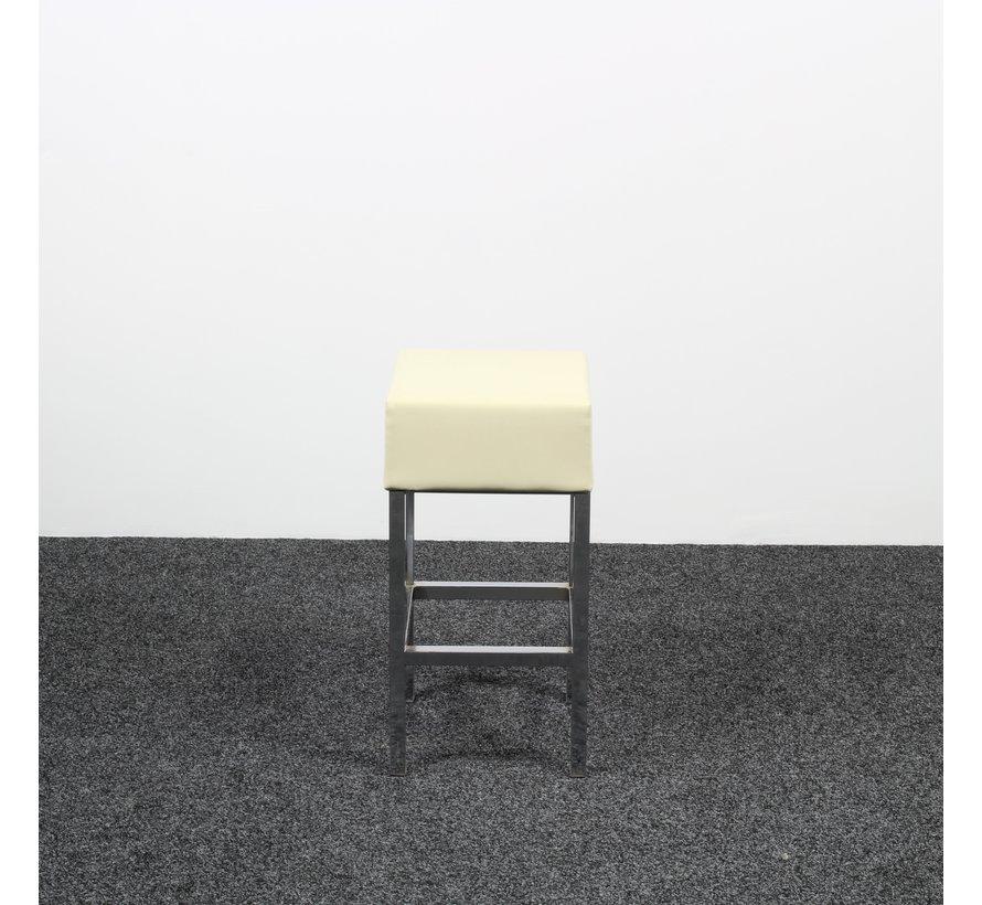 Lage Barkruk | Crème