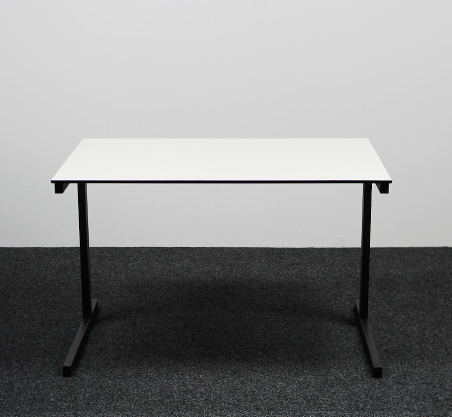 Gispen Bureau Wit Blad 120x80 cm