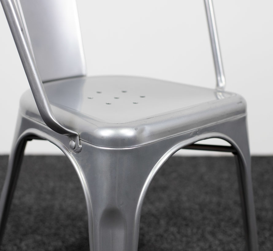 Design Kantinestoel Metaal